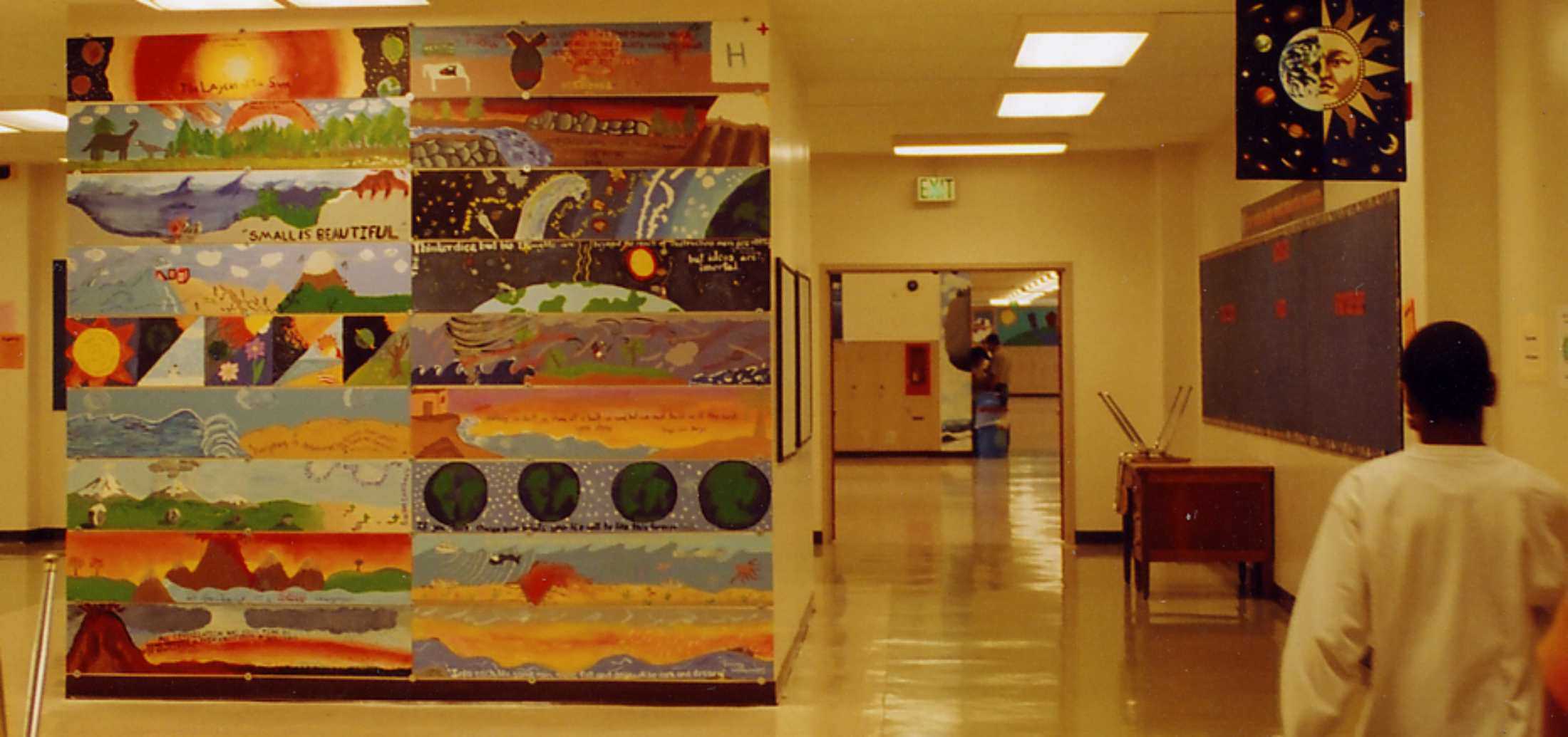 Jackson Middle School mural image